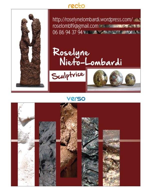 Roselynel Carte De Visite Sculpture